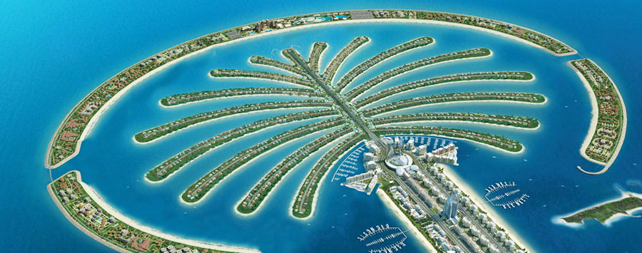 Rent villa in Palm Jumeirah